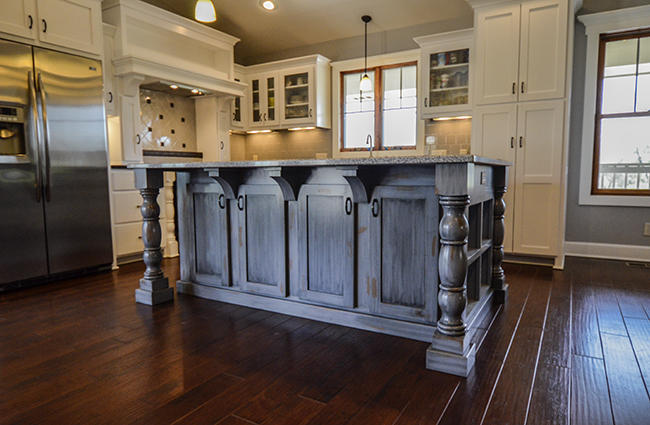 Traditional Farmhouse Kitchen Addition