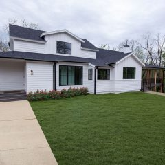 Custom Farmhouse on Wooded Lot